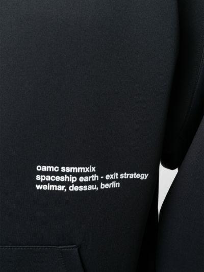 oamc felpa con micro logo