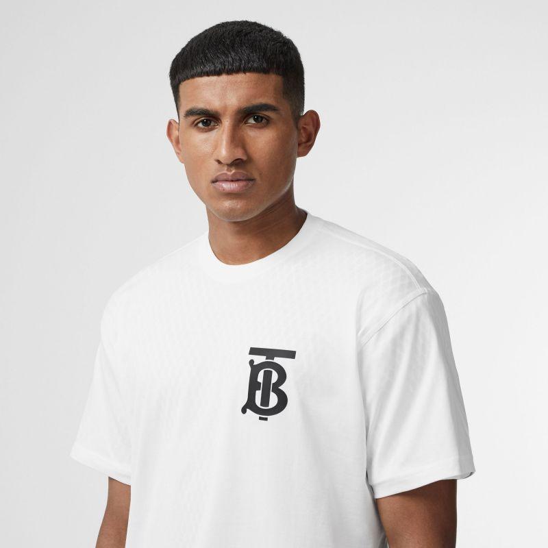 t-shirt oversize burberry